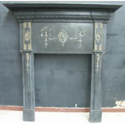 original cast iron surround