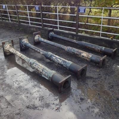 Reclaimed Cast Iron Columns / Pillars