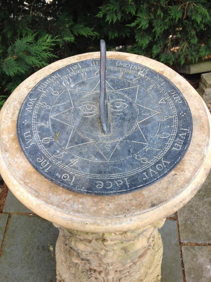 A Composite Stone Sun Dial