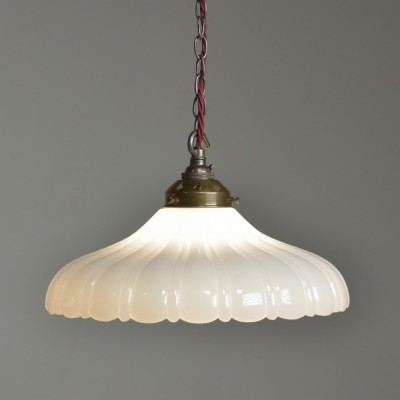 Jefferson Moonstone Pendant Lights x3 Large