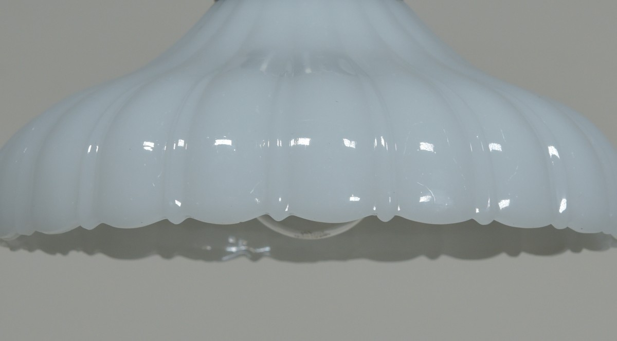 Moonstone Shade Pendant Light