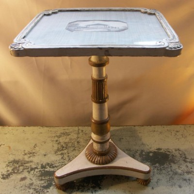 painted regency occasional table  circa 1820-1830