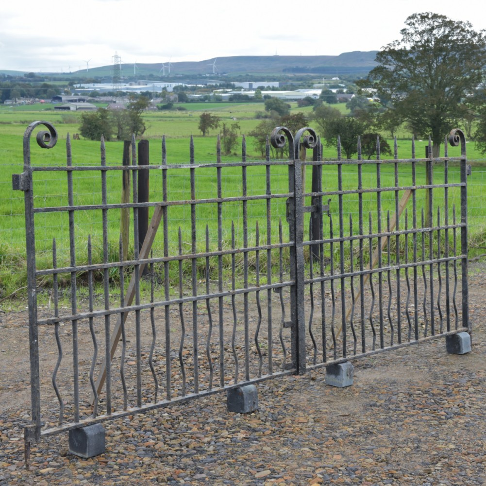 Pair 11 foot Church Gates