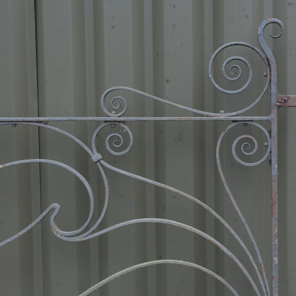 Art Nouveau Gates - 12 Feet Wide