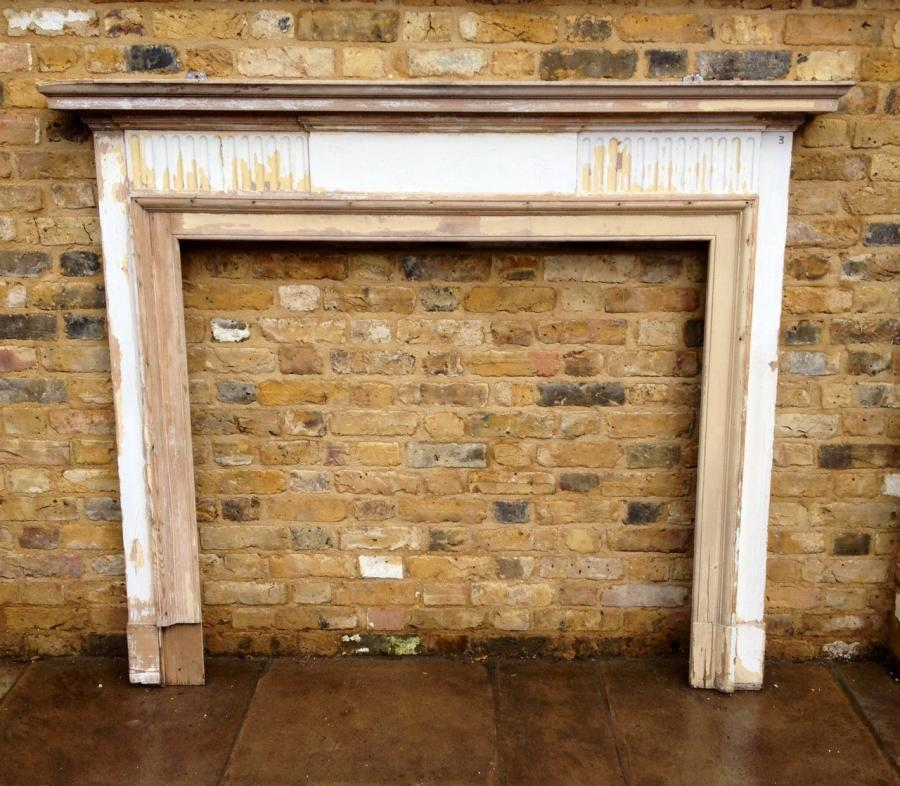 Reclaimed Wooden Fire Surround