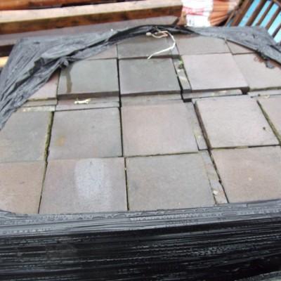 9x9 quarry tiles reclaimed