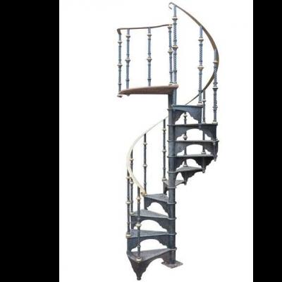 Yates Haywood Cast Iron Black Spiral Staircase