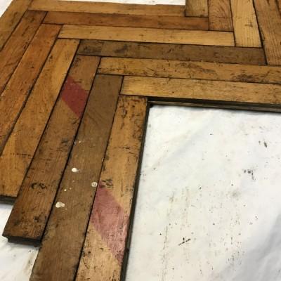 16. Reclaimed Oak Wood Parquet Flooring 80s    XX century