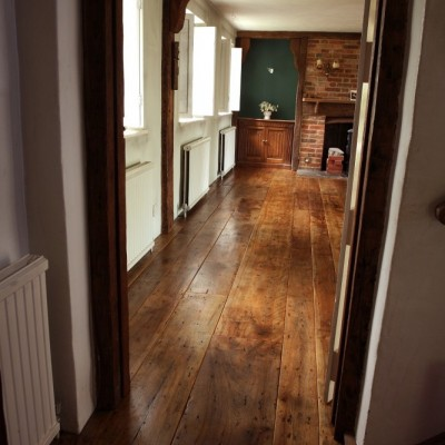 Antique Oak Floorboards 17th Century Original