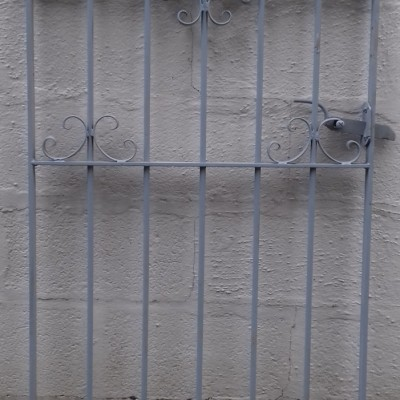 Reclaimed garden gate.