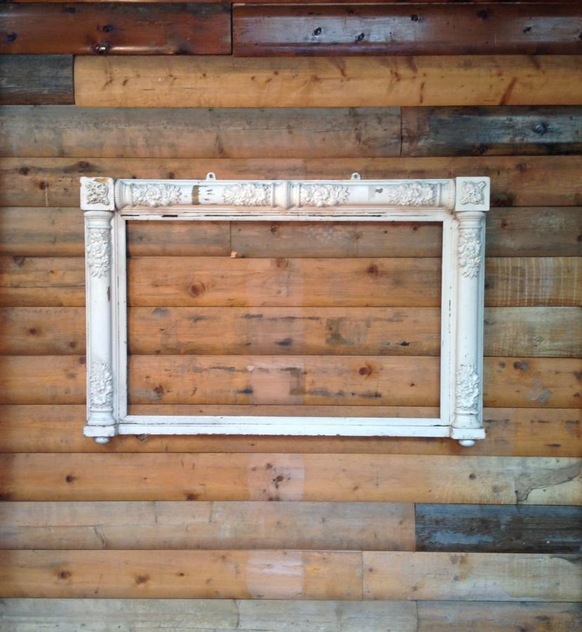 Reclaimed Ornate Mirror Frame