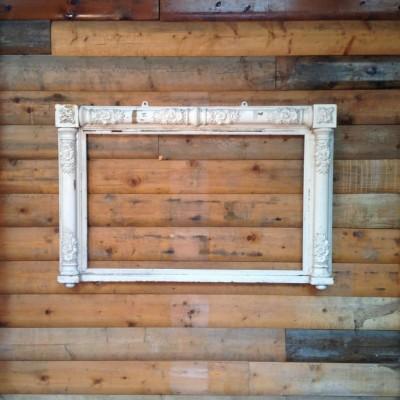 Reclaimed Ornate Mirror Frame