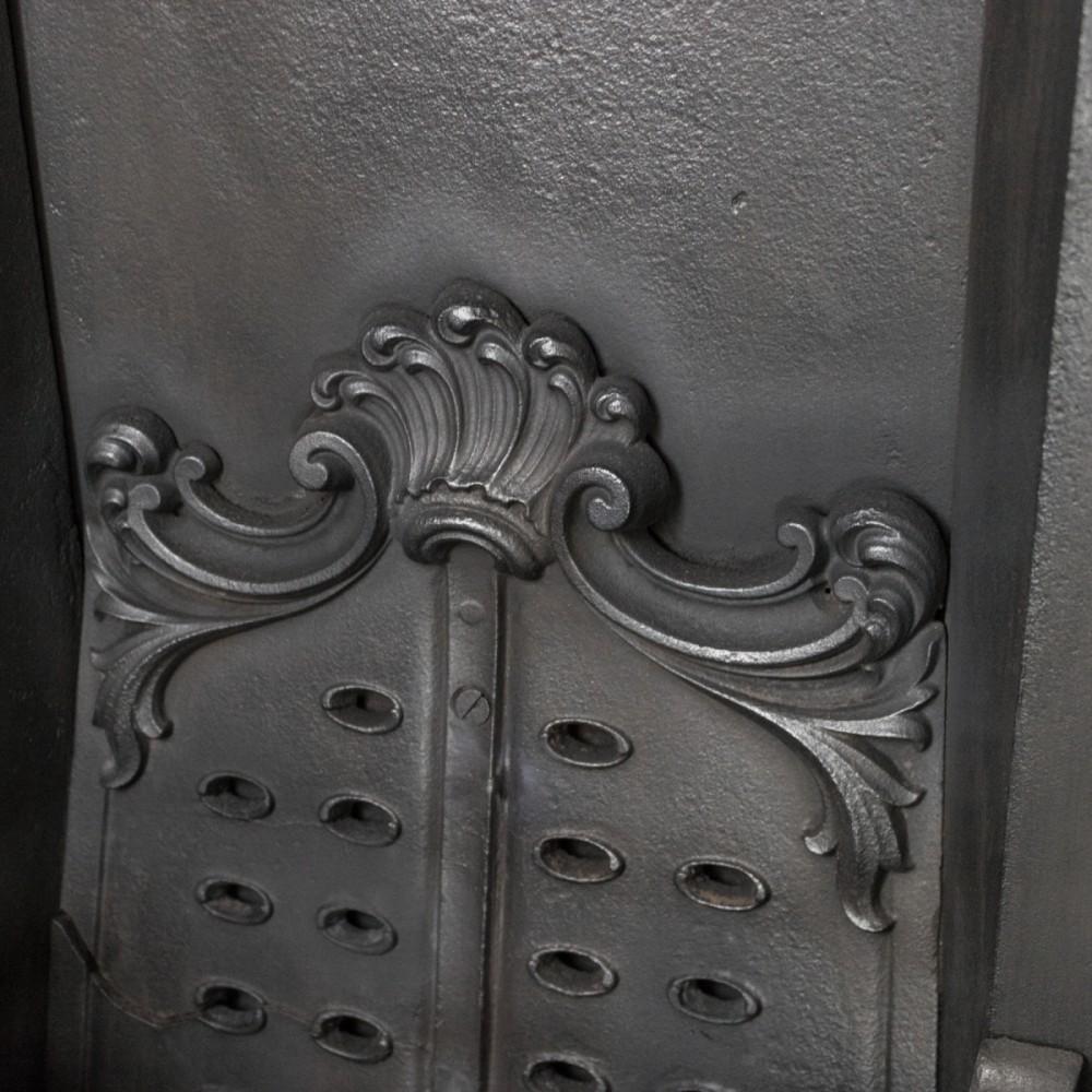 Antique Ornate Late Georgian, Early Victorian Cast Iron Insert