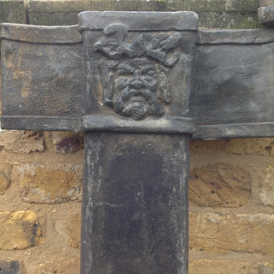 Antique Reclaimed Lead Downpipe