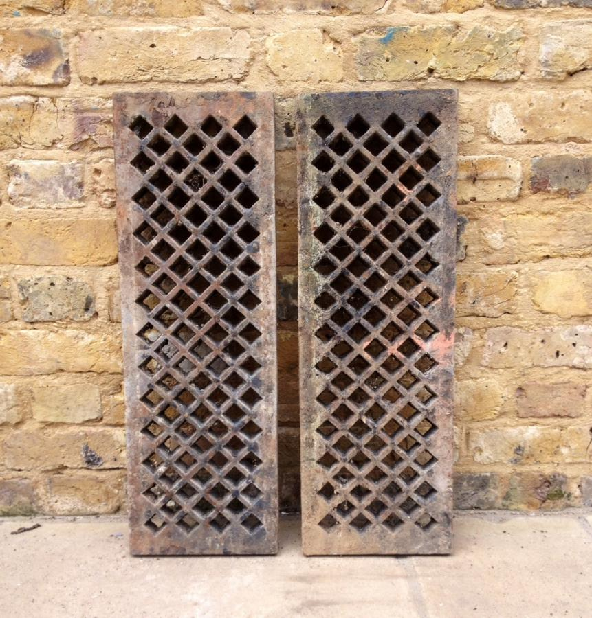 Reclaimed Cast Iron Drain Covers