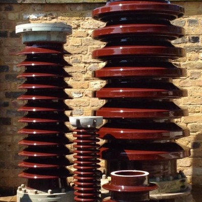 An Extensive Range Of Reclaimed English Electrical Insulators