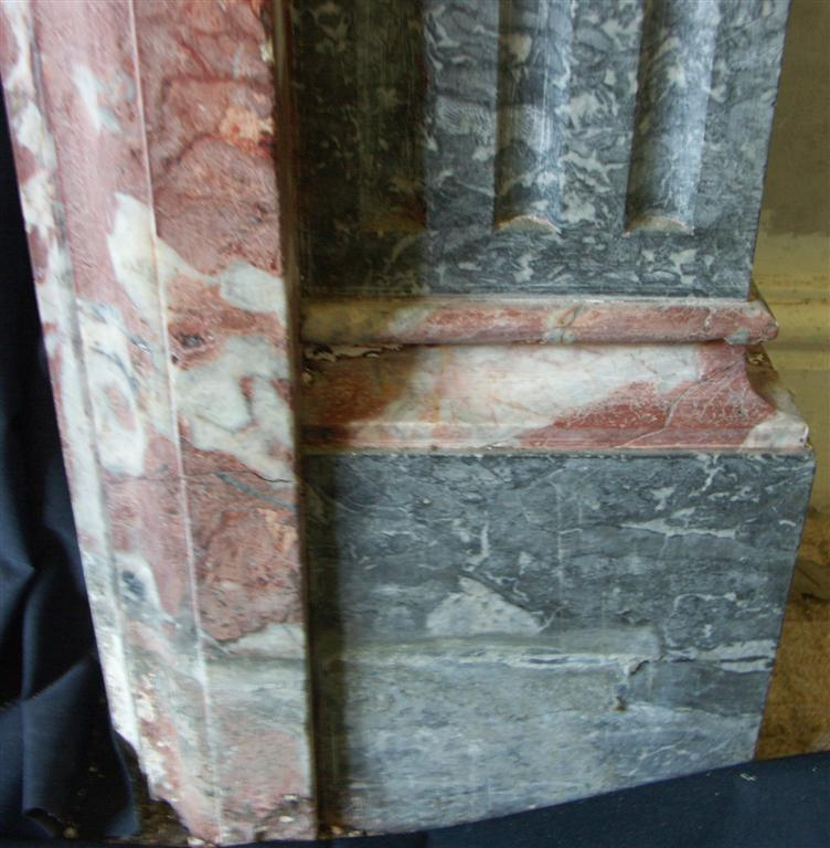 victorian marble fire surround