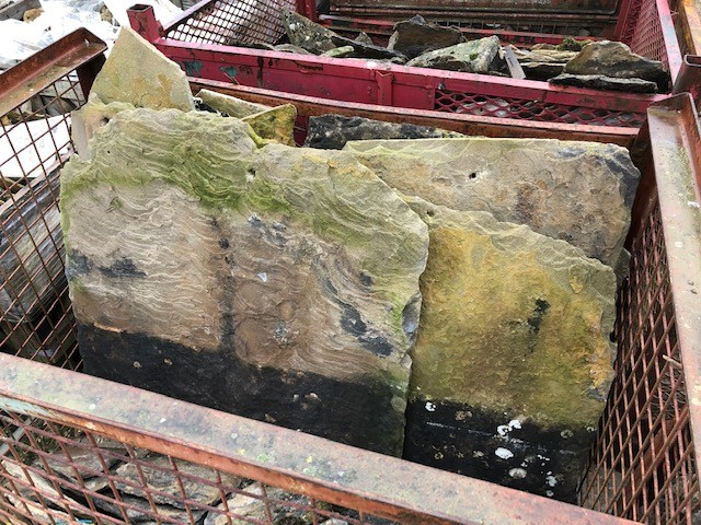 Reclaimed Cotswold Stone Roofing