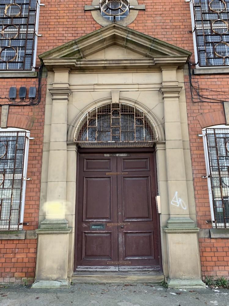 Stone Door Surround and Wooden Door - Due to be Dismantled Soon
