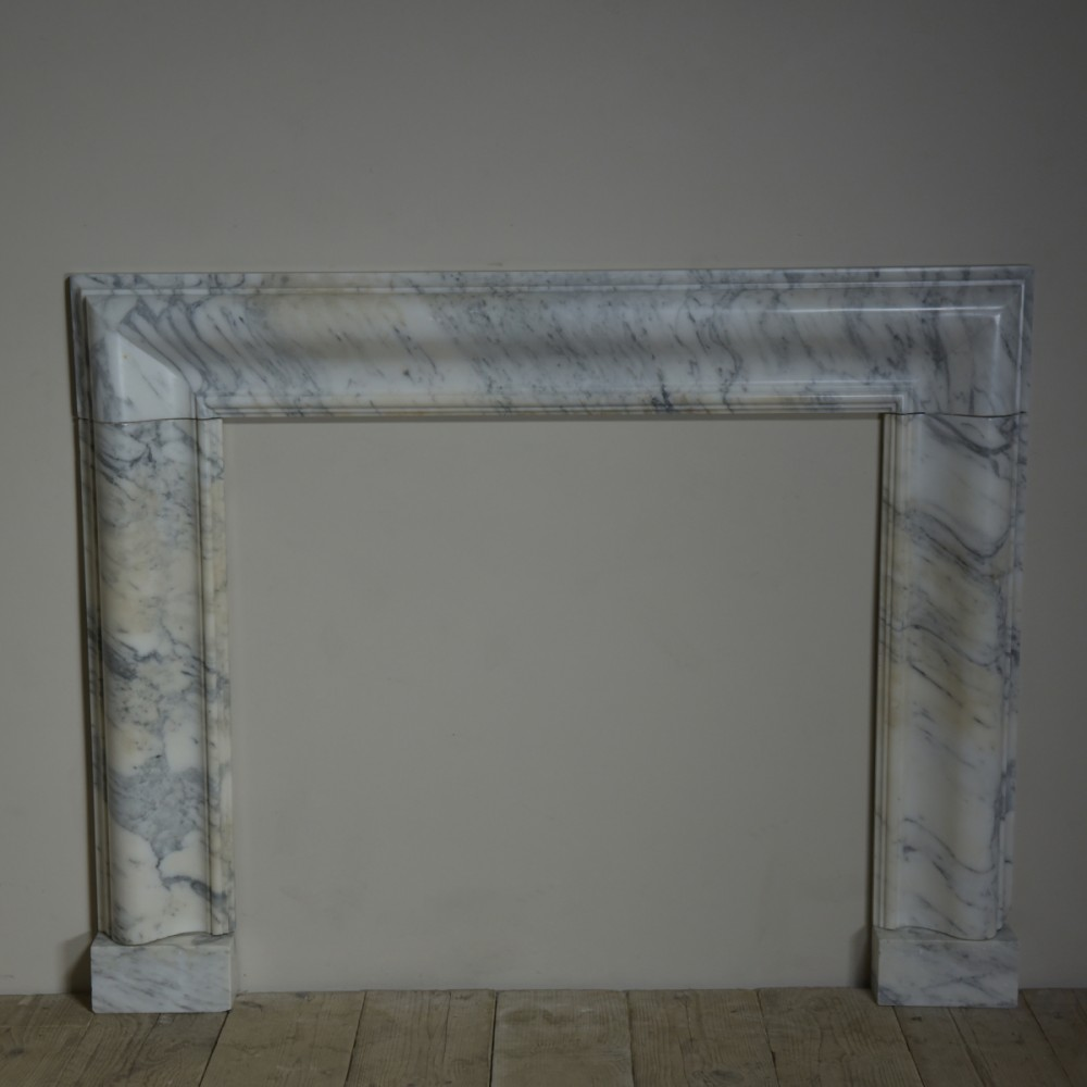 Marble Bolection Fire Surround - 19th Century