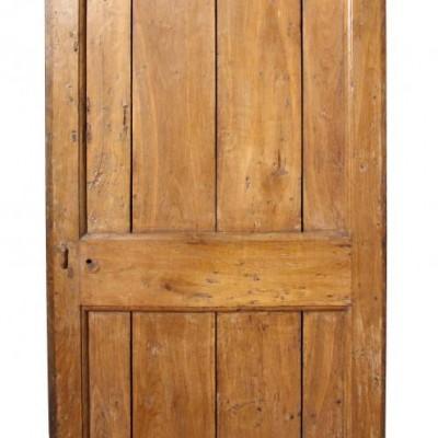 18th Century rustic oak plank door