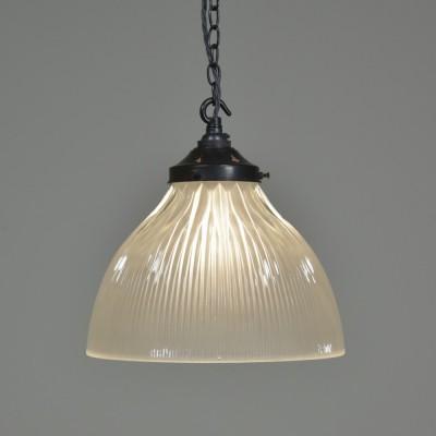 Single Holophane Pendant Light