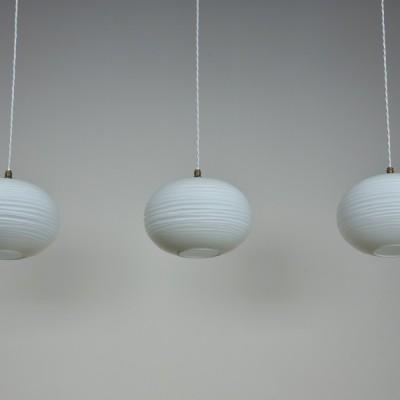 Waved Globe Pendants
