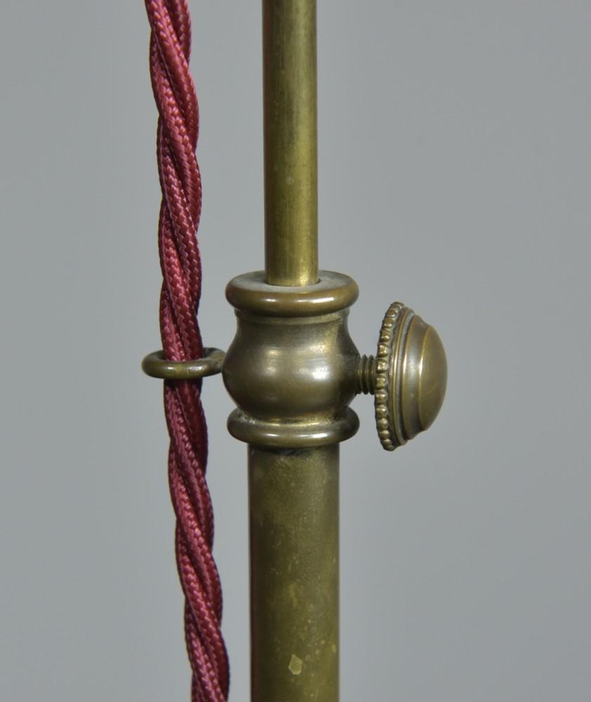 Extending Brass Lamp