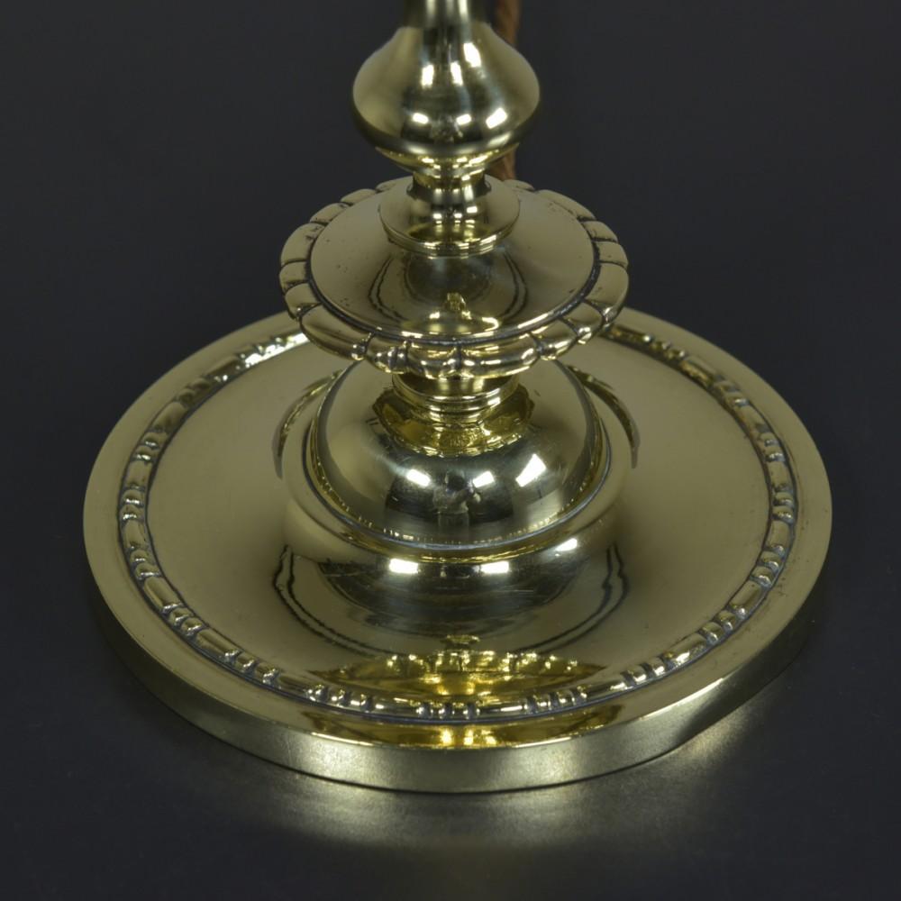 Antique Brass Lamp - Bead & Reel