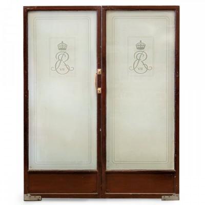 Reclaimed King Edward VII Hospital Glazed Double Doors