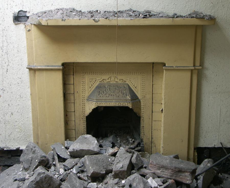 early victorian stone fireplaces