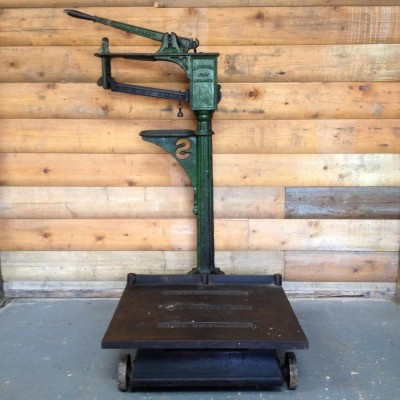 Vintage Industrial Scales