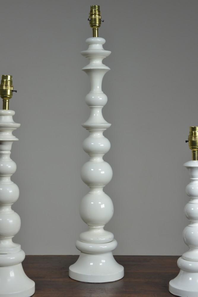 Bobble Table Lamps - 1960s