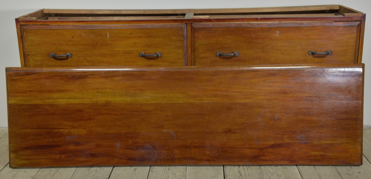 Antique Drapers Chest of Drawers