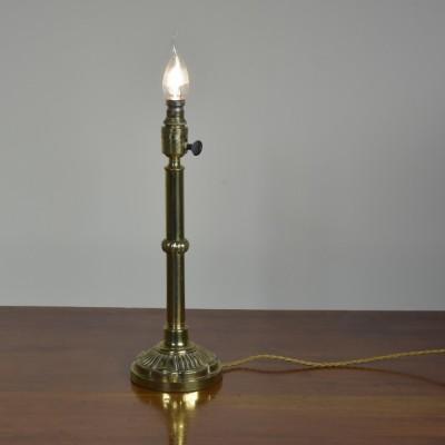 Lambs Tongue Lamp - c1910