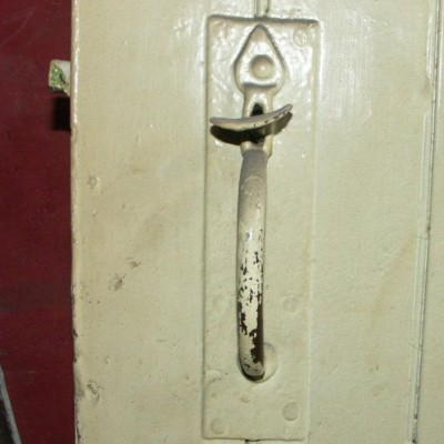 early victorian door latch and handle