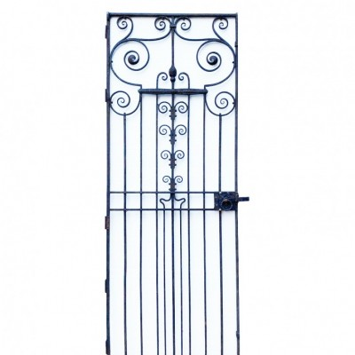 A 19th Century Wrought Iron Pedestrian Gate