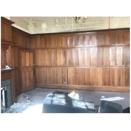 Stunning Room Of Reclaimed Oak Panelling
