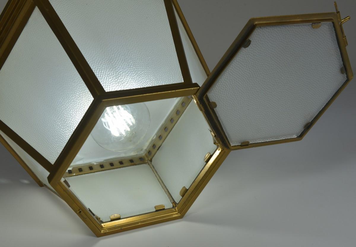 Hexagonal Lanterns - Surface Mount