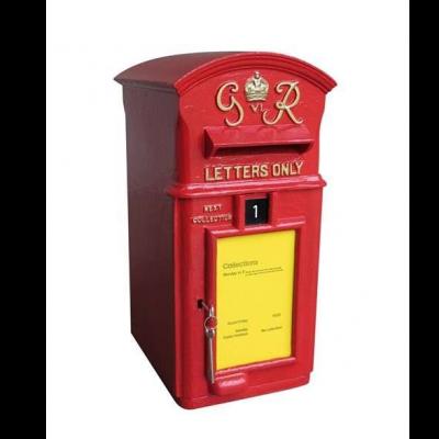 Original Antique Reclaimed Cast Iron George 6th Post Box