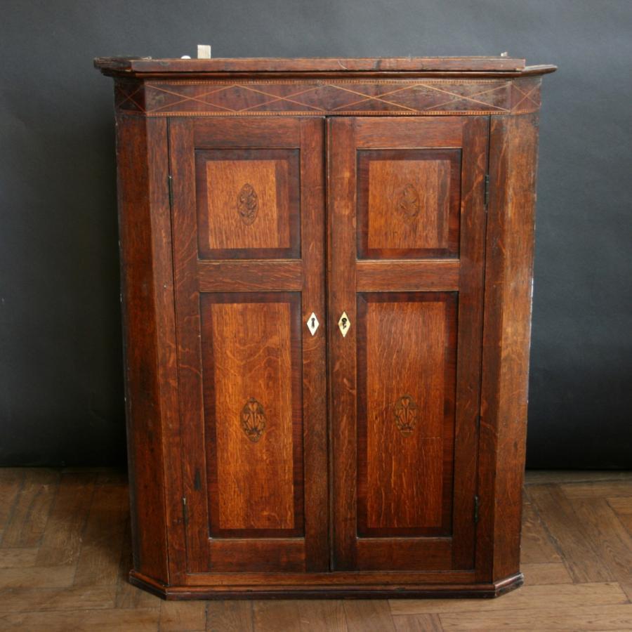 Antique Georgian Oak Cabinet - Salvoweb.com