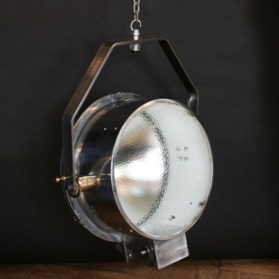 Polished Steel and Iron Spotlights