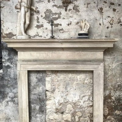 Reclaimed Bath Stone Georgian Fireplace