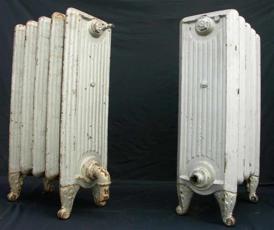 early english antique cast iron radiators