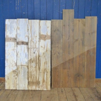 """Reclaimed 8"""" Double Sided Shabby Chic/Pine Floorung/Cladding"""
