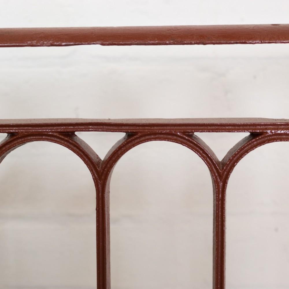 Antique Regency Cast Iron Juliette Balcony