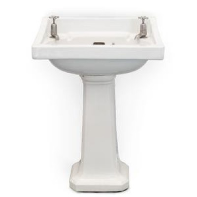 Reclaimed Royal Doulton Sink On Pedestal Stand