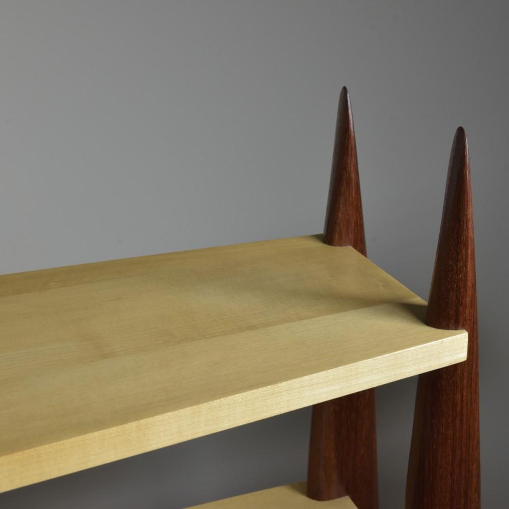 Sculptural Bookcase Shelves