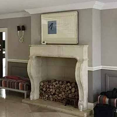 Arriving shortly - reclaimed French stone LXIV fireplace