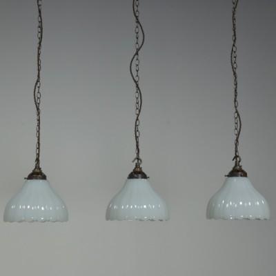 Moonstone Pendant Lights x3